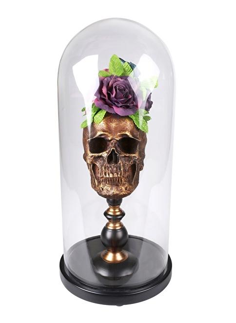Thanx Co Flower Skull Fanus Aksesuar Renkli